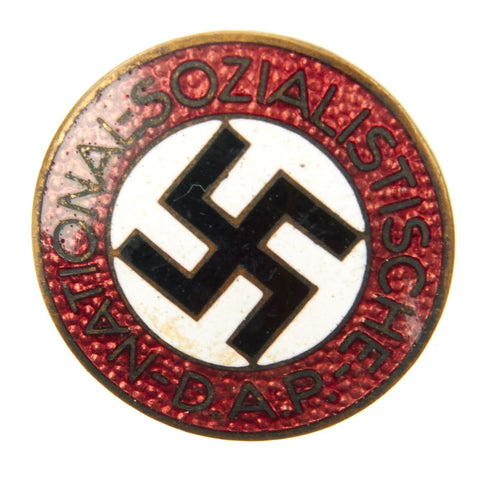 Original German NSDAP Party Enamel Membership Badge Pin RZM M1/130