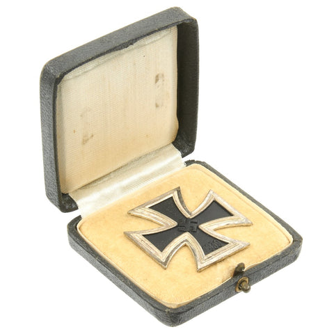 Original German WWII Iron Cross First Class 1939 in Original Case - Maker 100 Original Items