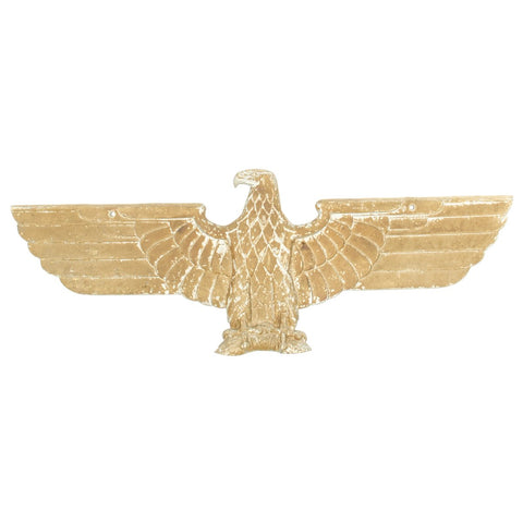 Original German WWII 27 Inch Railroad Train Eagle without Swastika - Deutsche - Reichsbahn Adler Original Items