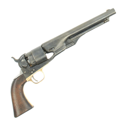 Original U.S. Civil War Colt Model 1860 Army Revolver made in 1863 - Cylinder Scene & Matching Serial No 134029