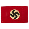 "show larger image of product view 1 : Original German WWII Wehrmacht Heer Army Camp Flag - 34"" x 21"" Original Items"