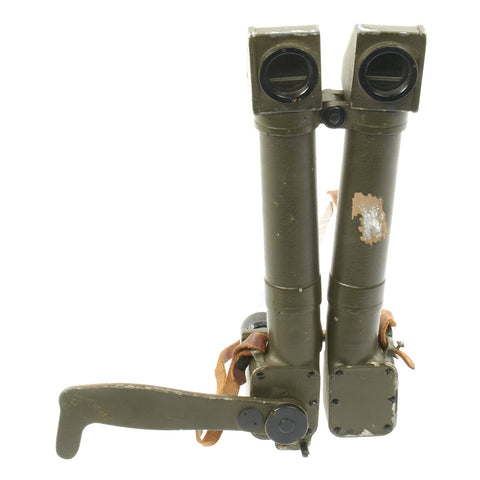 Original French WWI Rabbit Ears Trench Binoculars Periscope by HUET of Paris
