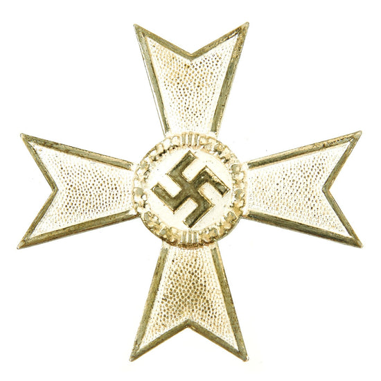 Original German WWII War Merit Cross KvK 1st Class in Silver by Karl Gschiermeister of Vienna