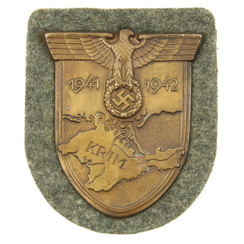 Original German WWII Crimea Krim Shield