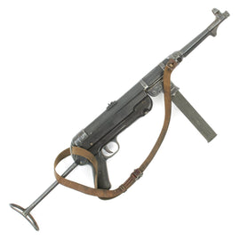 Original German WWII 1941 Dated MP 40 Display Gun by Steyr with Original Sling - Maschinenpistole 40