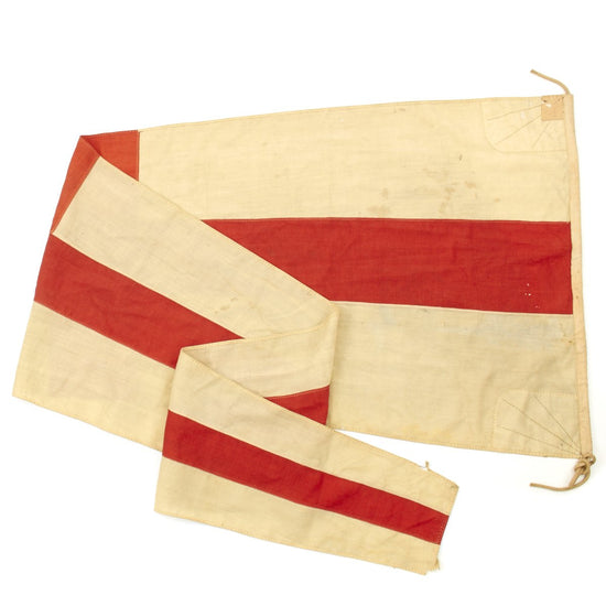 Original Imperial Japanese Navy WWII Submarine Pennant Signal Flag