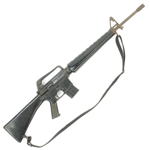 Original U.S. Vietnam War Colt M16A1 Rubber Duck Training Rifle with Nylon Sling Original Items