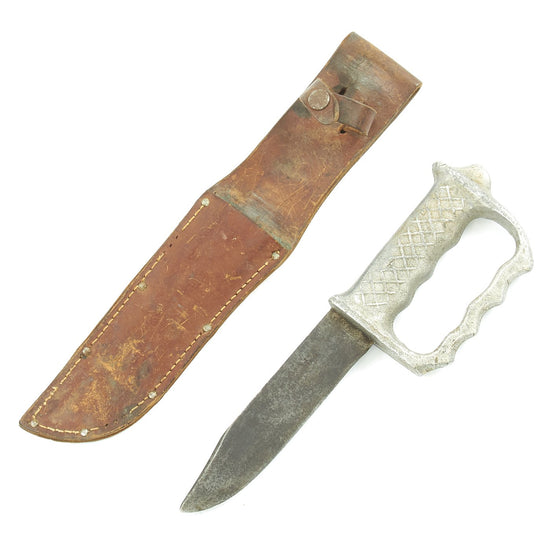 Original New Zealand WWII Commando Fighting Knuckle Knife by NZ Cutlers Company Original Items