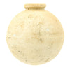 show larger image of product view 4 : Original Japanese WWII Type 4 Ceramic Inert Hand Grenade - Last Ditch Unglazed