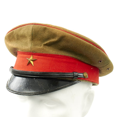 Original WWII Imperial Japanese Army Enlisted Mans Visor Cap