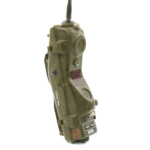 "Original U.S. Vietnam War Era RT-196/PRC-6 Radio Receiver Transmitter ""Walkie Talkie"" by Sentinel Radio Corp. Original Items"