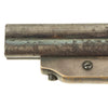 show larger image of product view 4 : Original U.S. 19th Century Sharps Model 2A .30 Rimfire 4 Barrel Brass Frame Pepperbox Pistol - Serial 1771 Original Items
