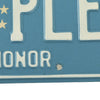 show larger image of product view 4 : Original U.S. Army Congressional Medal of Honor State of Pennsylvania Sample License Plate Original Items