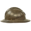 show larger image of product view 4 : Original Belgian WWII Model 1926 Adrian Infantry Helmet with Lion Badge & Complete Liner Original Items