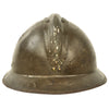 show larger image of product view 5 : Original Belgian WWII Model 1926 Adrian Infantry Helmet with Lion Badge & Complete Liner Original Items