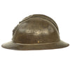 show larger image of product view 6 : Original Belgian WWII Model 1926 Adrian Infantry Helmet with Lion Badge & Complete Liner Original Items