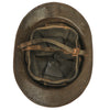 show larger image of product view 8 : Original Belgian WWII Model 1926 Adrian Infantry Helmet with Lion Badge & Complete Liner Original Items