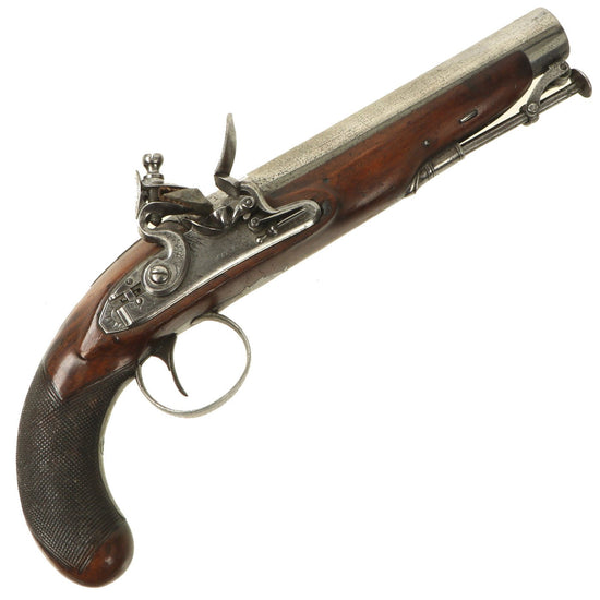 "Original 18th Century British Private Purchase ""Manstopper"" .75"" Flintlock Pistol by Smith of London - c. 1790 Original Items"