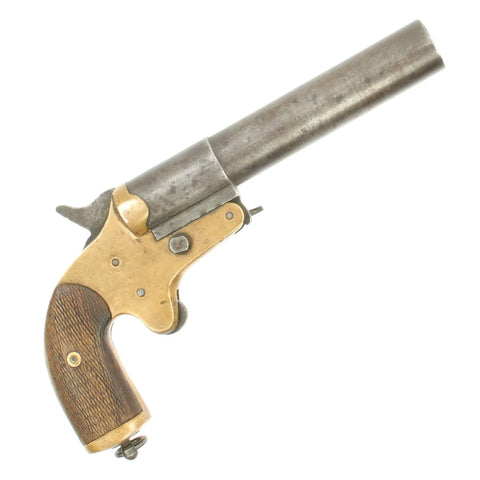 Original French WWI Model 1917 Flare Signal Pistol marked Méchanicarm - Serial 10342 Original Items