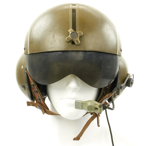 U.S. Vietnam War 377th Medical Company Air Ambulance Helicopter Crew Chief Gentex SPH-4 Helmet