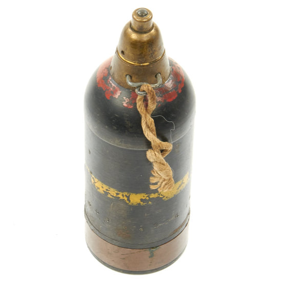 Original Japanese WWII Type 89 Knee Mortar 50mm Inert Grenade Discharger Round