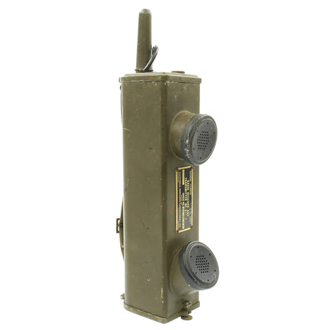 Original U.S. WWII Handie Talkie SCR-536 Radio Transceiver - BC-611-F dated 1945 Original Items