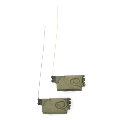 Original U.S. Vietnam War AN/PRR-9 Helmet-mounted Squad Radio Receivers - Set of 2 Original Items