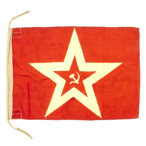 Original Soviet WWII Naval Jack Small Craft Submarine Flag - 29 x 20 Original Items