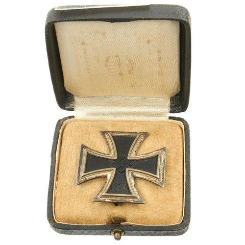 Original German WWII Iron Cross First Class 1939 in Original Case Original Items