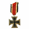 show larger image of product view 1 : Original German WWII Iron Cross 2nd Class 1939 by Friedrich Orth of Vienna with Ribbon - EKII Original Items
