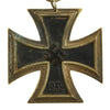 show larger image of product view 2 : Original German WWII Iron Cross 2nd Class 1939 by Friedrich Orth of Vienna with Ribbon - EKII Original Items