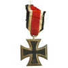 show larger image of product view 4 : Original German WWII Iron Cross 2nd Class 1939 by Friedrich Orth of Vienna with Ribbon - EKII Original Items