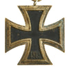 show larger image of product view 5 : Original German WWII Iron Cross 2nd Class 1939 by Friedrich Orth of Vienna with Ribbon - EKII Original Items