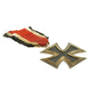 show larger image of product view 6 : Original German WWII Iron Cross 2nd Class 1939 by Friedrich Orth of Vienna with Ribbon - EKII Original Items