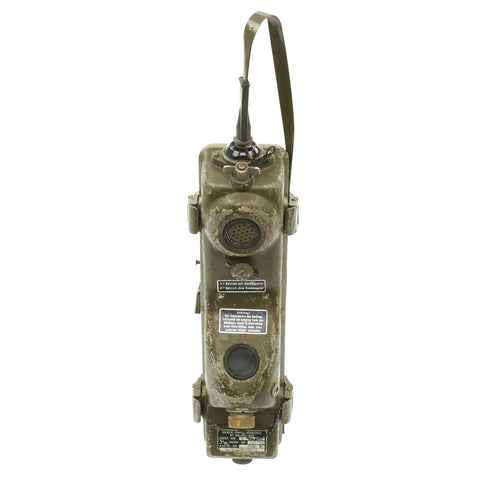 "Original Vietnam War Era German PRC6-6 Radio Receiver Transmitter ""Walkie Talkie"" - RT-196/PRC-6 Original Items"