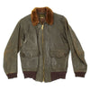 show larger image of product view 4 : Original U.S. WWII Navy AN-J-3A Flight Jacket by Monarch - Size 40