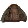 show larger image of product view 5 : Original U.S. WWII Navy AN-J-3A Flight Jacket by Monarch - Size 40