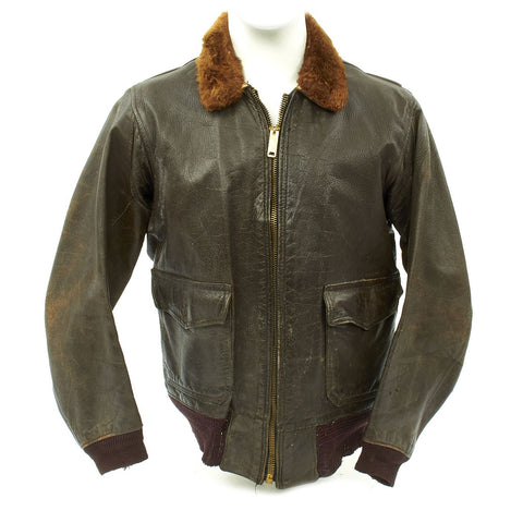 Original U.S. WWII Navy AN-J-3A Flight Jacket by Monarch - Size 40