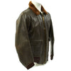 show larger image of product view 2 : Original U.S. WWII Navy AN-J-3A Flight Jacket by Monarch - Size 40