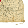 "show larger image of product view 8 : Original Japanese WWII Hand Painted Cloth Good Luck Flag - 29"" x 40"" Original Items"
