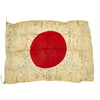 "show larger image of product view 2 : Original Japanese WWII Hand Painted Cloth Good Luck Flag - 29"" x 40"" Original Items"