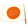 "show larger image of product view 1 : Original Japanese WWII Pilot Bail Out Float Flag with Telescoping Staff - 30"" x 39"" Original Items"