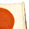 "show larger image of product view 6 : Original Japanese WWII Pilot Bail Out Float Flag with Telescoping Staff - 30"" x 39"" Original Items"
