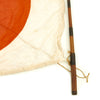 "show larger image of product view 7 : Original Japanese WWII Pilot Bail Out Float Flag with Telescoping Staff - 30"" x 39"" Original Items"