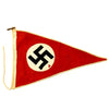show larger image of product view 1 : Original German WWII NSDAP National Socialist Vehicle Staff Pennant Flag Original Items