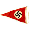 show larger image of product view 6 : Original German WWII NSDAP National Socialist Vehicle Staff Pennant Flag Original Items