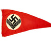 "show larger image of product view 8 : Original German WWII RAD Women's Reich Labor Service Large Pennant Flag - 76"" x 42"" Original Items"