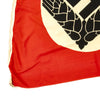"show larger image of product view 4 : Original German WWII RAD Women's Reich Labor Service Large Pennant Flag - 76"" x 42"" Original Items"