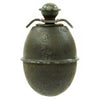 show larger image of product view 1 : Original German WWII Model 39 Inert Egg Hand Grenade with 1943 dated Fuze - Eierhandgranate Original Items