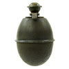 show larger image of product view 2 : Original German WWII Model 39 Inert Egg Hand Grenade with 1943 dated Fuze - Eierhandgranate Original Items